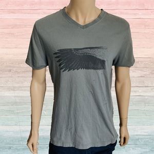 Hugo Boss Wings Casual Graphic Tee Shirt